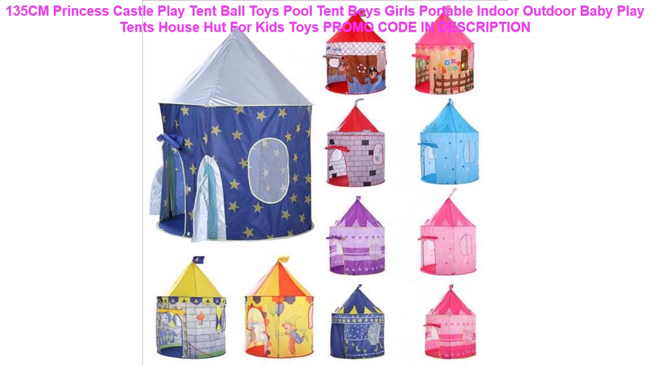 new style 7eb03 504f6 Cheap 135CM Princess Castle Play Tent Ball Toys Pool Tent Boys Girls  Portable Indoor Outdoor Baby P