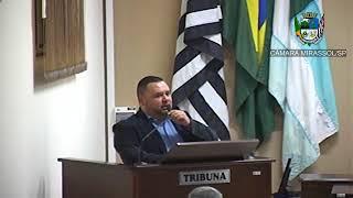 17ª Sessão Ordinária - Vereador Walmir Chaveiro