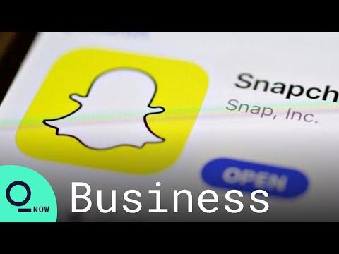 Snap's Record Rout Leads $150 Billion Social-Media Stock Selloff