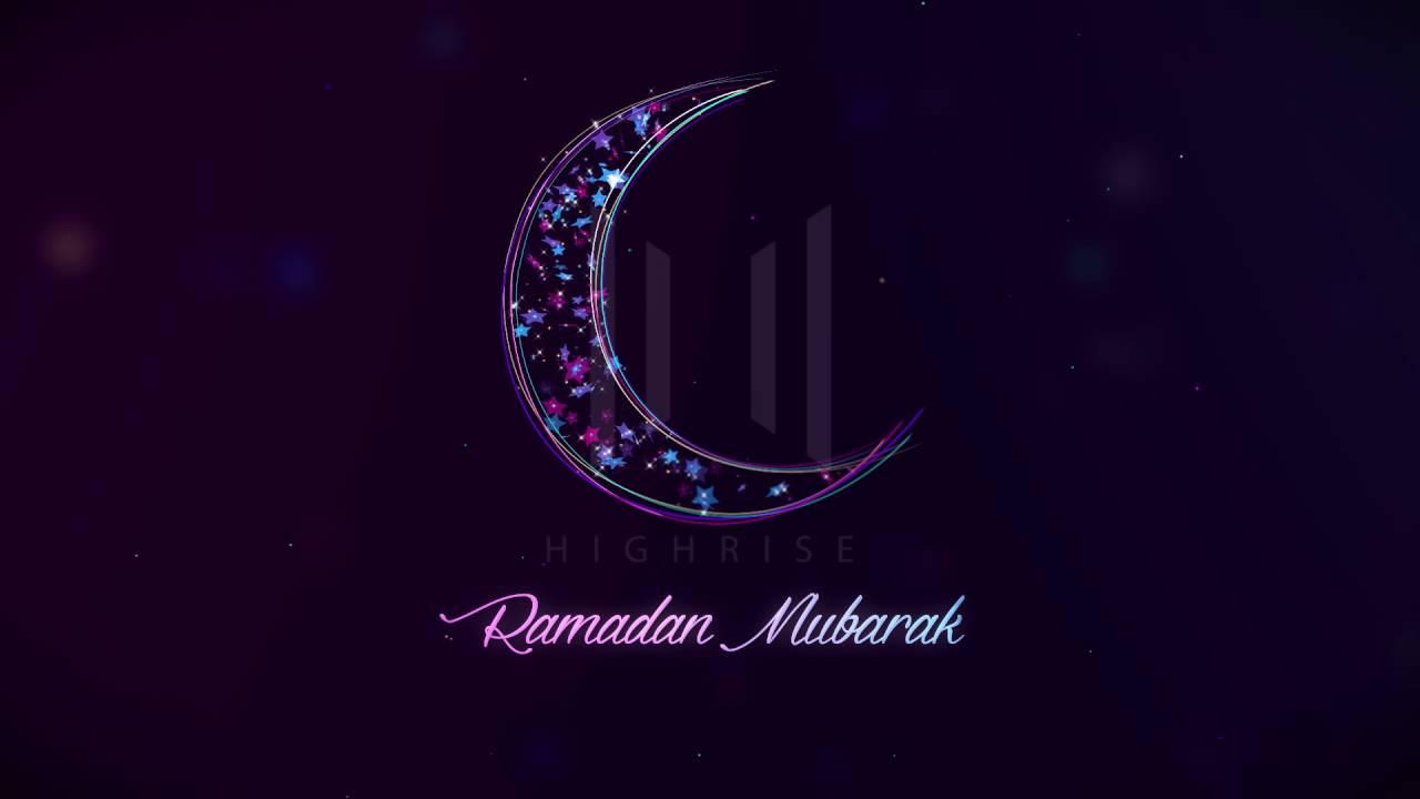 Ramadan Kareem Greetings Video Template Download Youtube