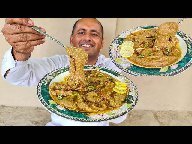 Mutton Haleem / Daleem Recipe | Hyderabadi Mutton Haleem | Reshewala Haleem | Mubashir Saddique