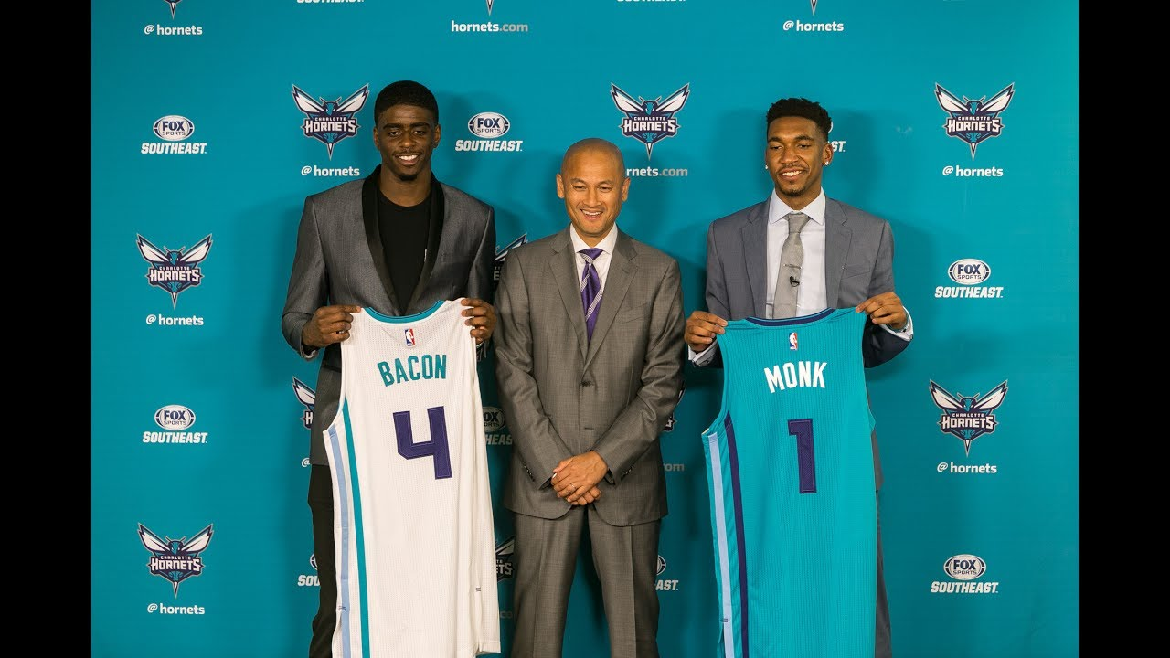 Charlotte Hornets Introduce Draft 2017 Draft Picks Recap - YouTube ccab9c79a
