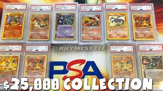 My TOP 25 Rarest & Most EXPENSIVE Pokemon Cards! ($25,000 COLLECTION!)