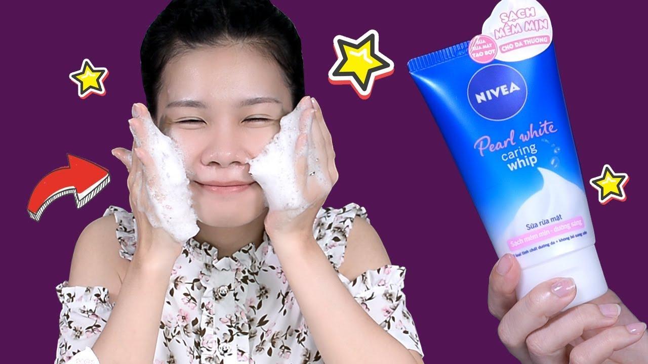 Rửa mặt đúng cách với sữa rửa mặt tạo bọt NIVEA – Sạch sâu | Mềm mịn | Da khỏe