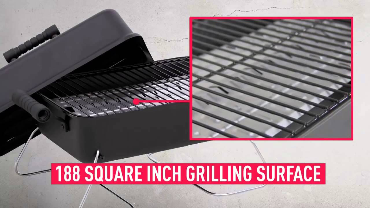Char Broil 190 Portable Table Top Gas Grill | 465133010   YouTube
