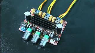 tpa3116d2 class d amplifier cooling system!