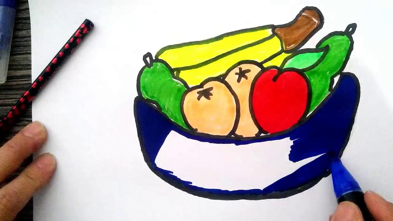 Meyve Tabaği çizimi Youtube
