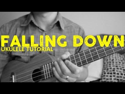 Lil Peep & XXXTentacion - Falling Down EASY Ukulele Tutorial - Chords - How To Play