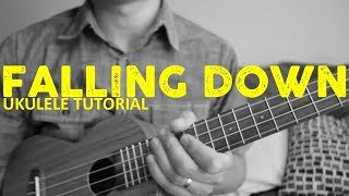 Lil Peep XXXTentacion Falling Down EASY Ukulele Tutorial Chords How To Play