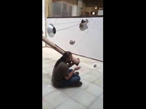 audio interactive  installation sculpture
