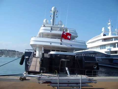 Lurssen's Martha Ann owned by Warren E. Halle.wmv