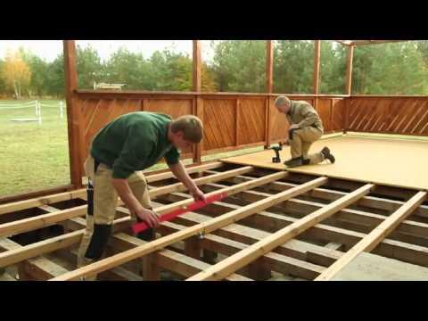 dauerholz terrassen bauen mit dauerfix ibowbow. Black Bedroom Furniture Sets. Home Design Ideas