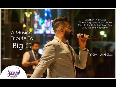 A Musical Tribute To Big G - BGM Band - Gopi Sunder - Goutham Vincent