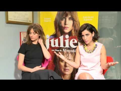Michelle Jenner e Inma Cuesta entregadas en la 'Julieta' de Almodóvar