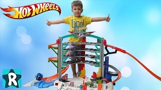 Машинки Хот Вилс МЕГА ГАРАЖ Hot Wheels Ultimate Garage Playset
