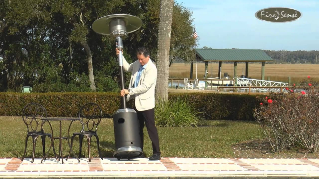 Stainless Steel mercial Patio Heater with Wheels