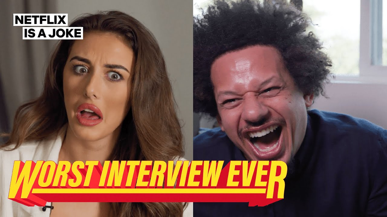 Eric Andre Pranks Chloe Veitch From The Circle | Worst Interview Ever