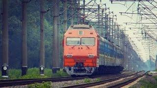 """ДС3-015 с двухгруппным поездом """"ГАЛИЧИНА"""" и """"КИЕВ ЭКСПРЕСС"""""""