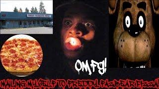 MAILING MYSELF TO FREDDY FAZBEAR PIZZA!!! I MADE IT!!!