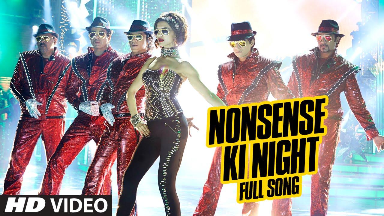 Download OFFICIAL: 'Nonsense Ki Night' FULL VIDEO Song   Happy New Year   Shah Rukh Khan   Mika Singh