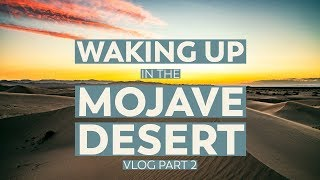 Camping in the Mojave Desert, California | VLOG Part 2