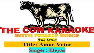 amar vitor tumi thako--eleyas & kheya【Bangla Karaoke With Lyrics With Female Voice for Male Singers】