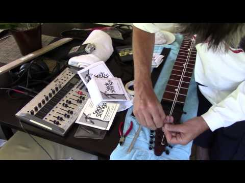 Chapman Stick - cleaning and string change