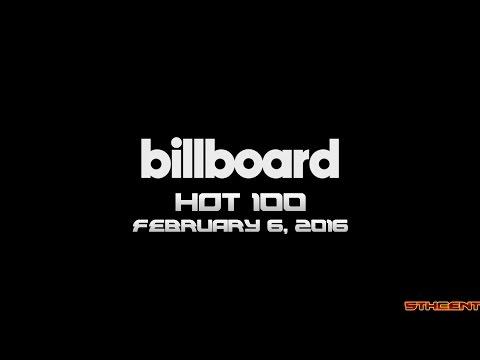 Billboard Hot 100 (Week of February 6. 2016)