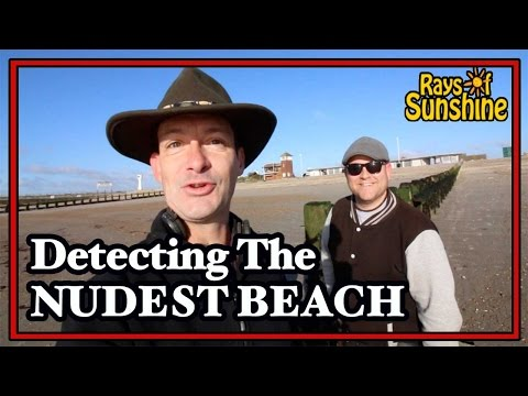 Metal Detecting The Nudist Beach (72)