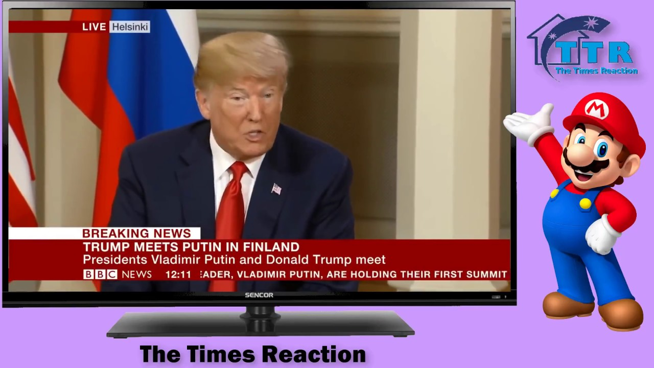 BREAKING NEWS: Trump and Putin meeting begins | The Times Reaction