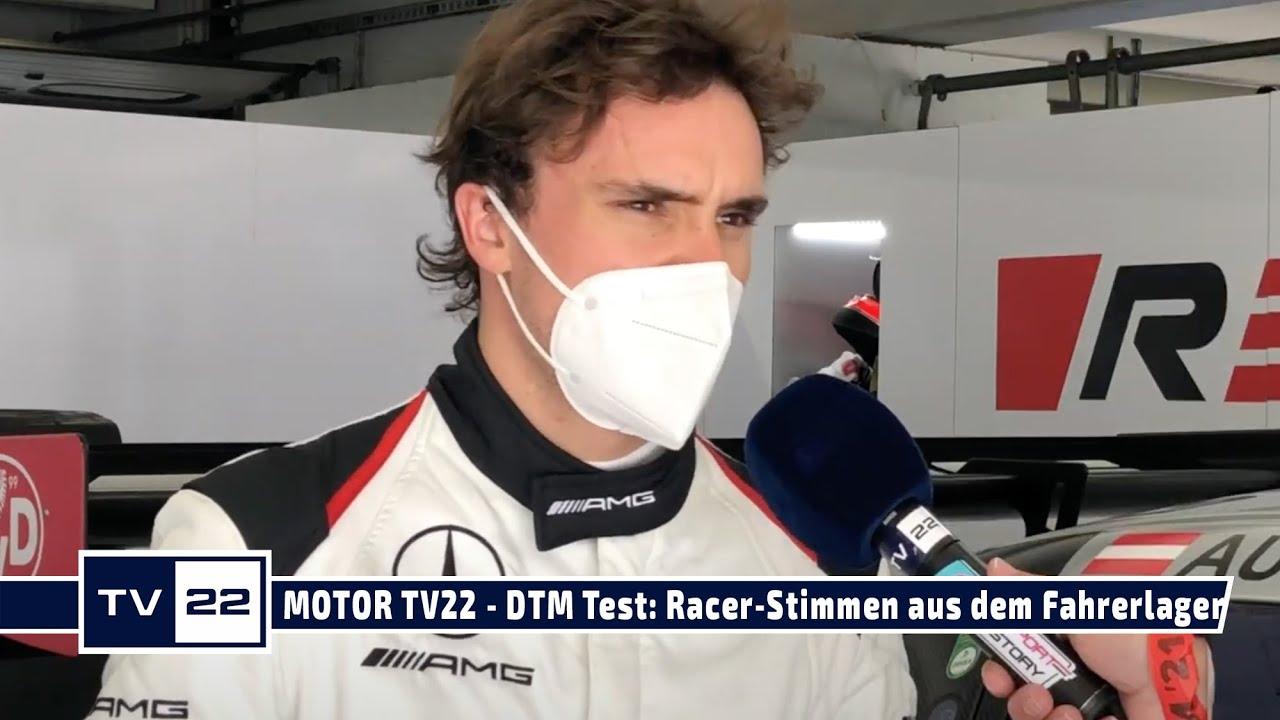 MOTOR TV22: DTM Test Hockenheim - Exklusive Racer-Stimmen aus dem Fahrerlager der ersten Testtage