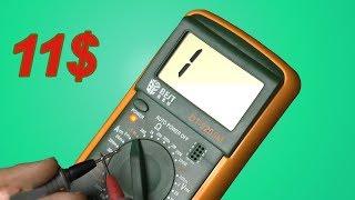 видео Мультиметры, электронные приборы. Инструменты для ремонта и дачи. DNS, Мультиметр, professional, master