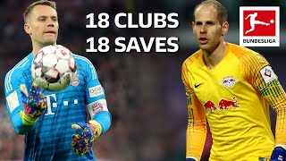 18 Clubs, 18 Saves - The Best Save by Every Bundesliga Team in 2018/19