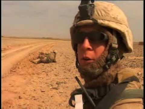 Marine Patrol in Afghanistan