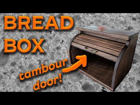 Make a Breadbox with a Tambour door