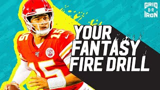 NFL Week 3 Fantasy Football Advice  Your Fantasy Fire Drill
