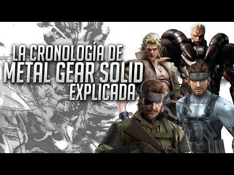 La guía de Metal Gear Solid ¿Cuál es el orden cronológico? ¿Cómo empezar a jugarlo?