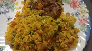 Свинина с рисом в духовке