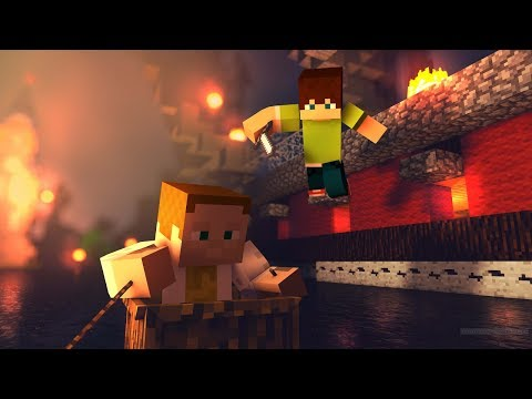 Přežíváme s Gejmrem na raftu | Minecraft Raft Wars