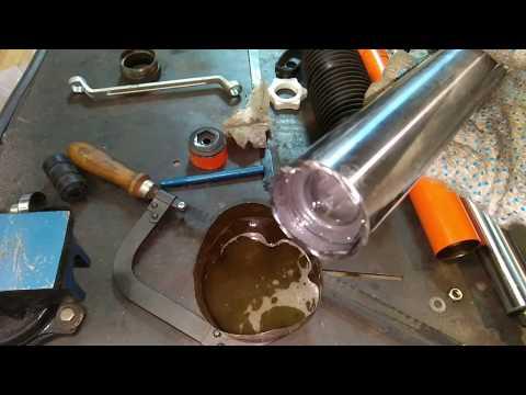 Газовый амортизатор, что внутри, как я его разобрал!