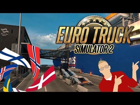 MrFousing spiller Euro truck simulator 2 Scandinavia - Episode 2