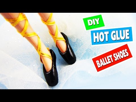 How to Make Realistic Doll Ballet Shoes