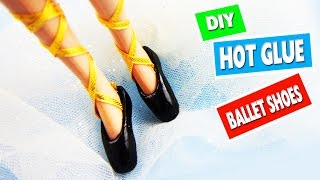 How to Make Realistic Doll Ballet Shoes - simplekidscrafts