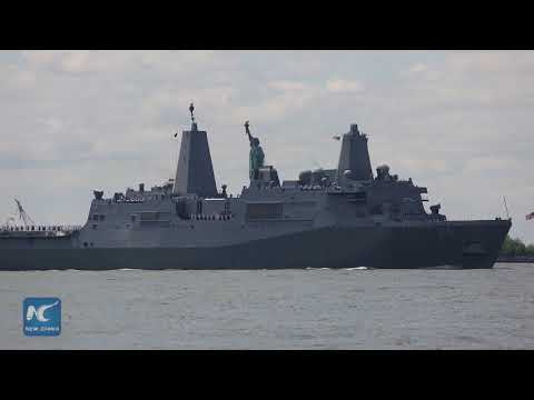 2018 Fleet Week New York kicks off with Parade of Ships