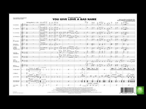 You Give Love a Bad Name arranged by Paul Murtha