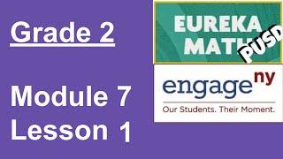 Eureka Math Grade 2 Moḋule 7 Lesson 1