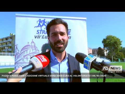PADOVA MARATHON: L'EDIZIONE VIRTUALE DONA 5000 EURO AL VOLONTORIATO   06/10/2020
