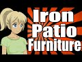 How to Renew Iron Patio Furniture