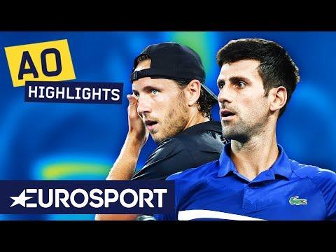 Novak Djokovic vs Lucas Pouille Extended Highlights | Australian Open 2019 Semi-Finals