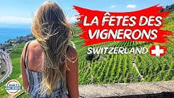La Fête des Vignerons 2019 Vevey Switzerland - Wine Festival   90+ Countries with 3 Kids